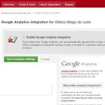 Google Analytics integration for an Email Marketing campaign